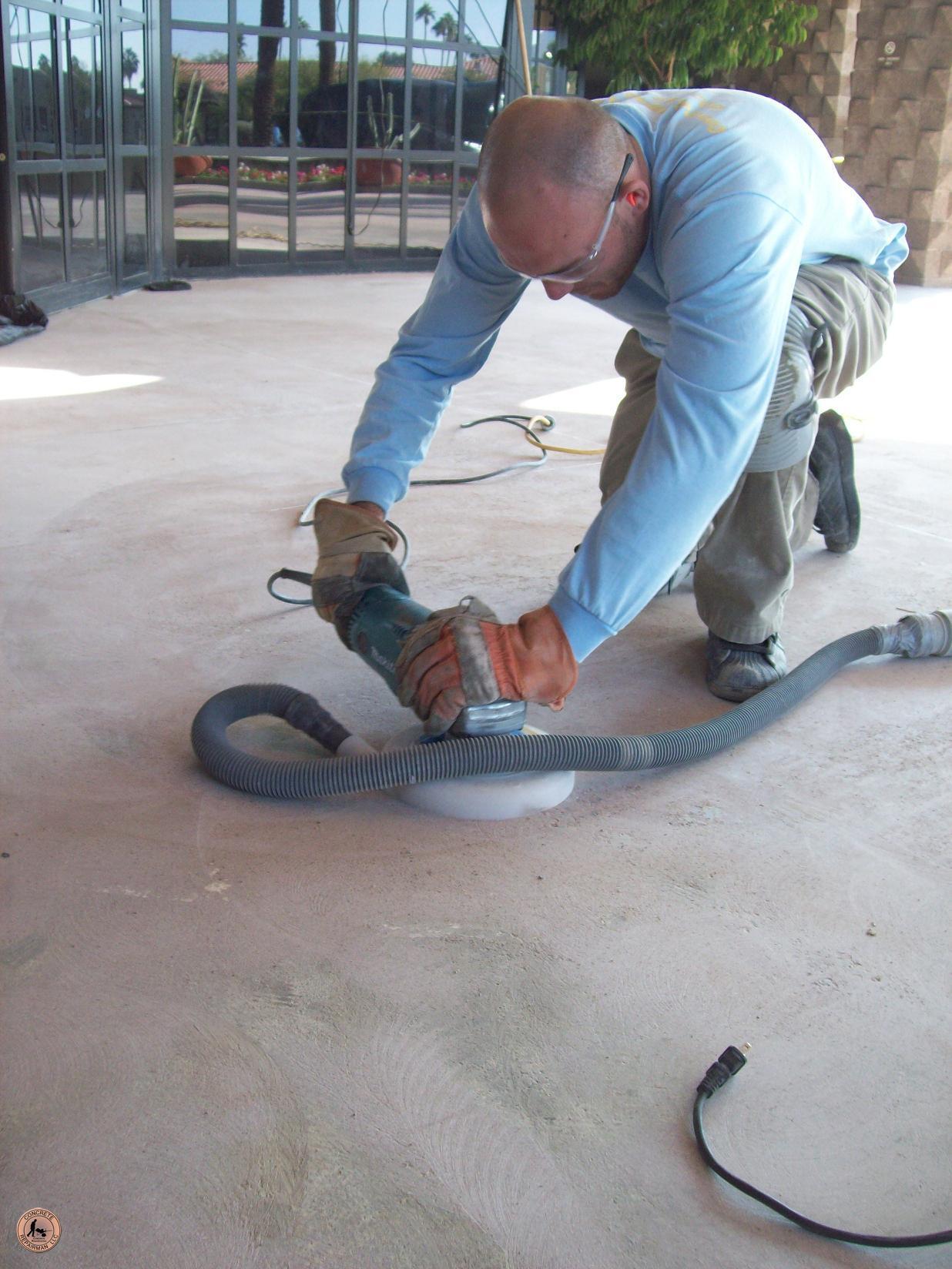 Grinding Concrete Concrete Repairman Grinding Concrete
