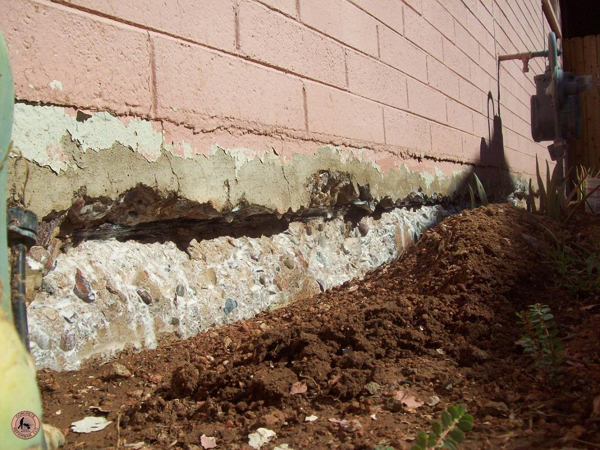 Stem Wall Repair Stem Wall Foundation Repair Concrete