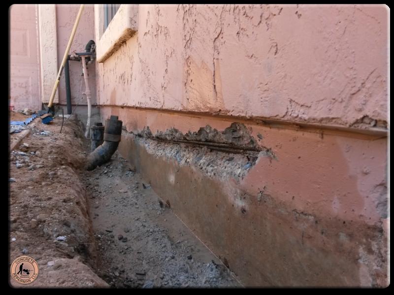 pipe stem crack repair