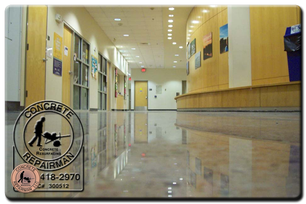 Polished Concrete Experts Littletown Arizona