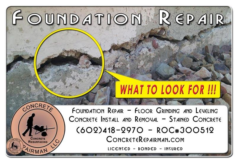 Foundation Repair Inspection Mesa Arizona