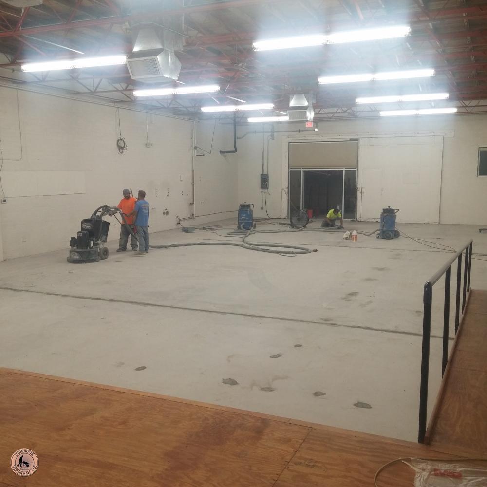 Concrete Repair & Resurfacing