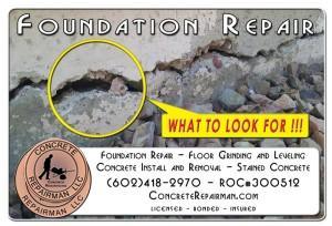 Foundation Inspection and Repair Phoenix Arizona
