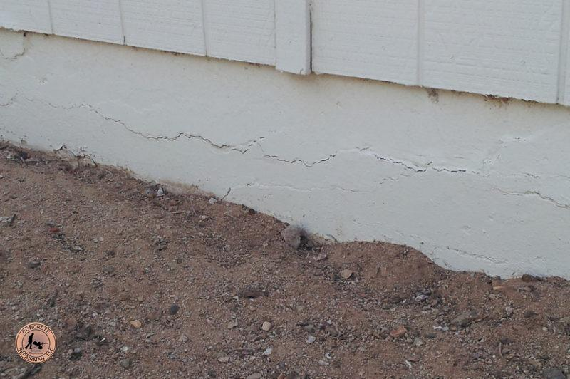 Horizontal Cracks are Signs of Foundation Problems