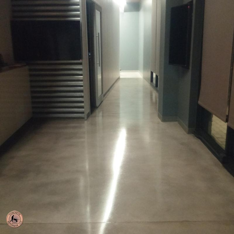 Commercial Concrete Floor Grind And Seal Gilbert Arizona