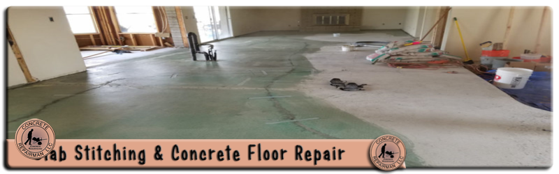Slab Sching Ed Concrete Floor