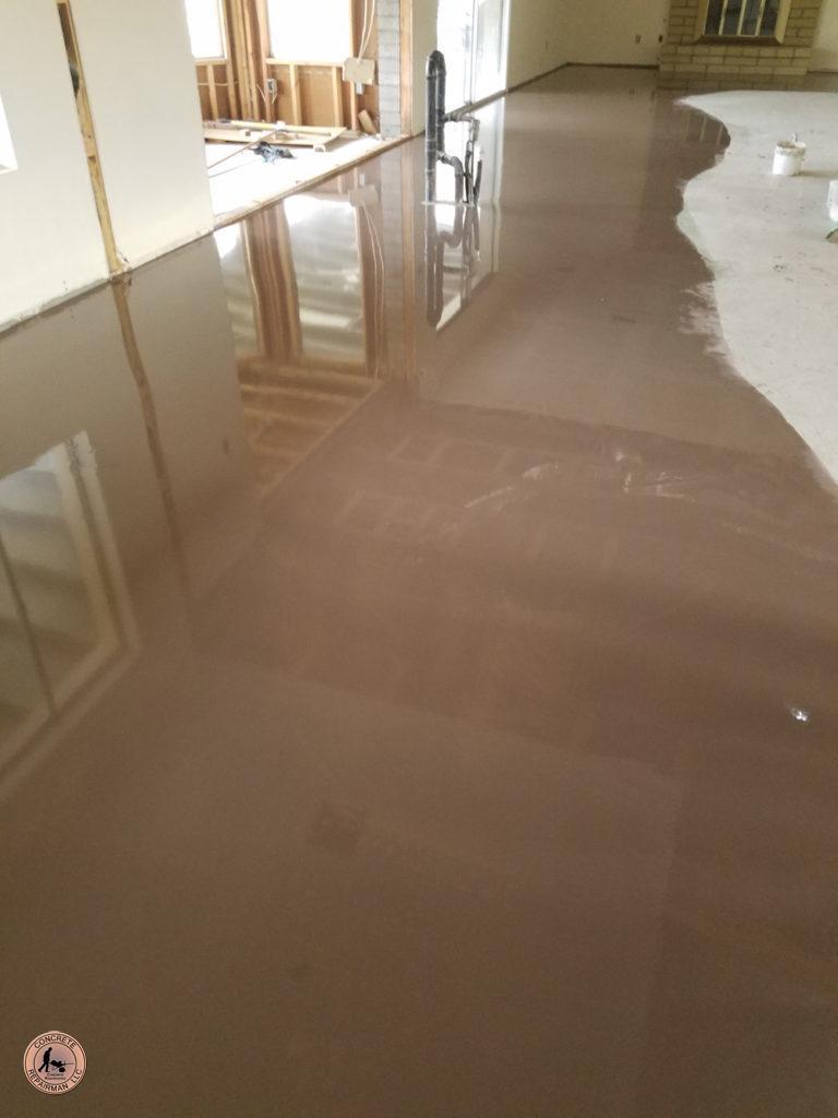 Slab Stitching Saving An Interior Floor Concrete Floor