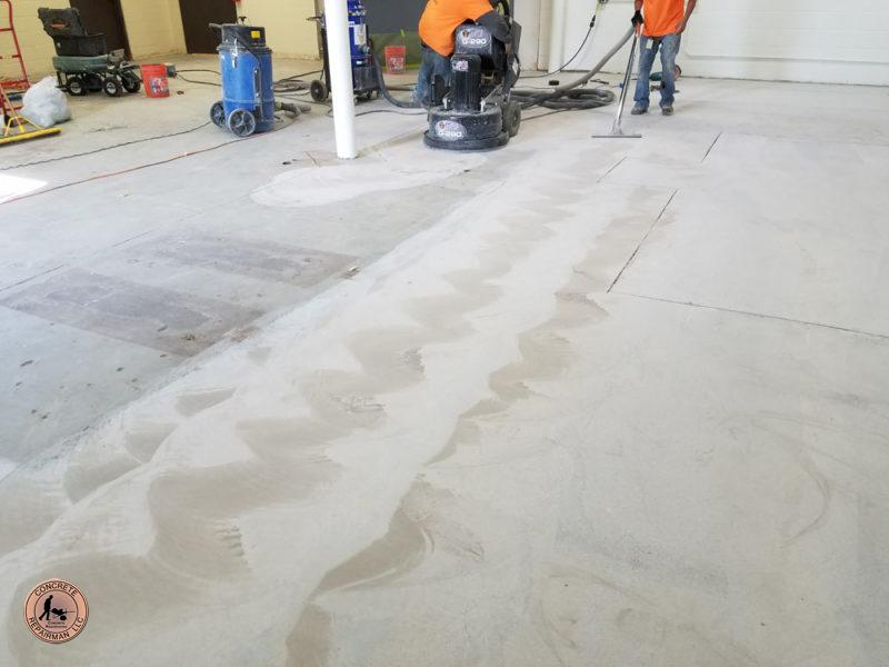 Concrete Floor Grinding Gilbert Arizona