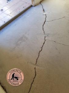 How To Repair a Cracked Concrete Floor