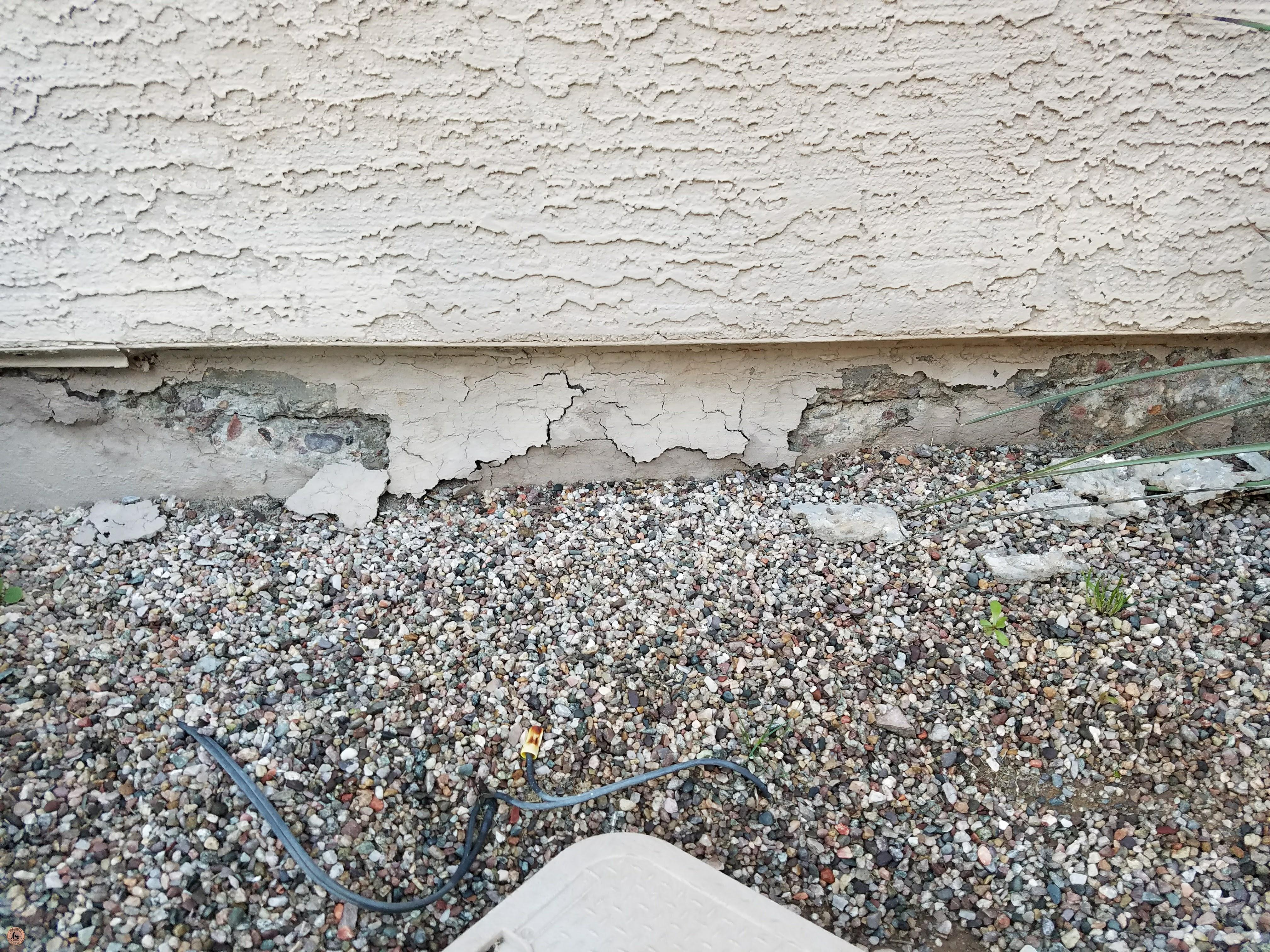 Photo of Spalling Concrete Damage 08