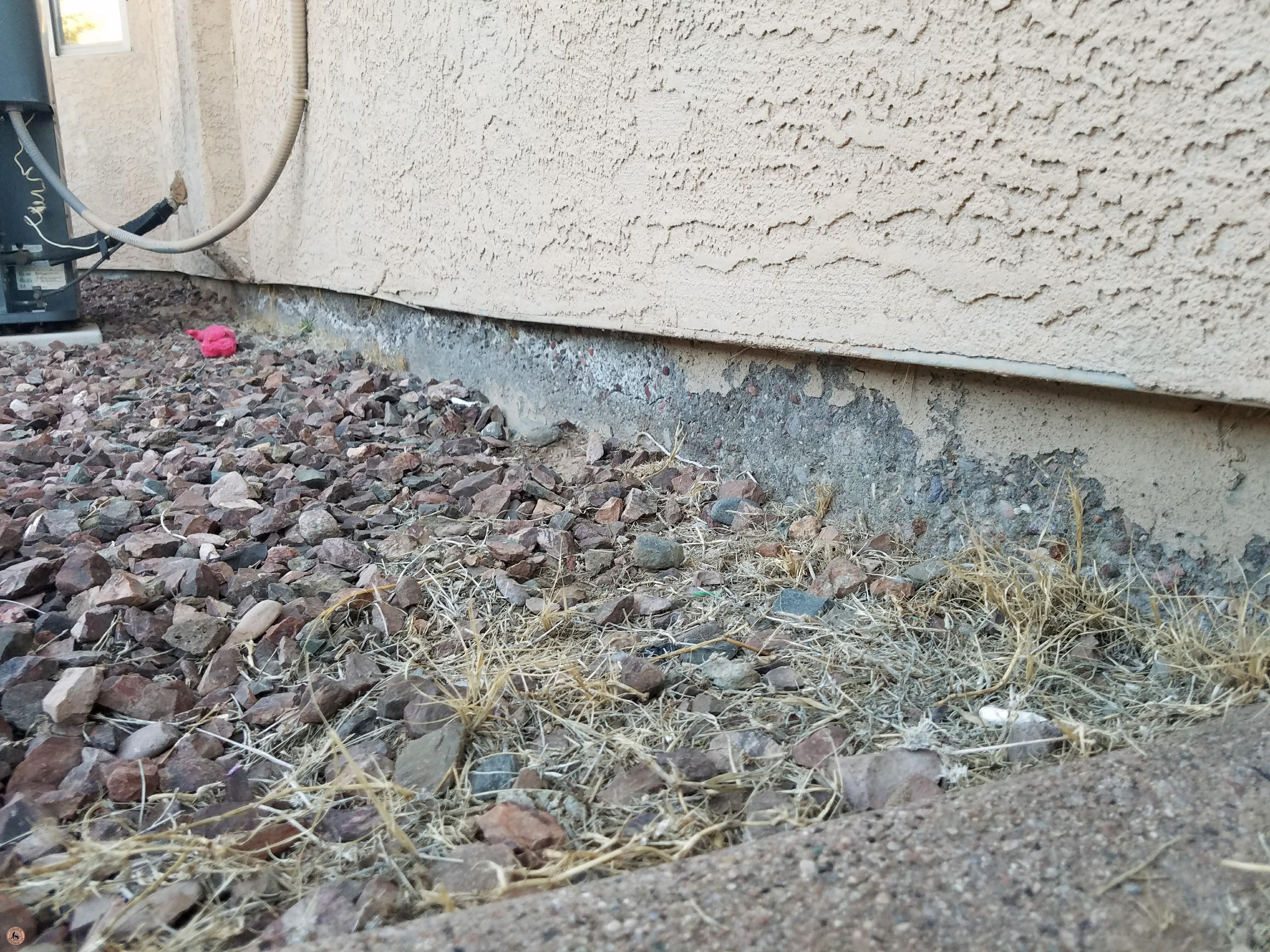 Photo of Spalling Concrete Damage 09