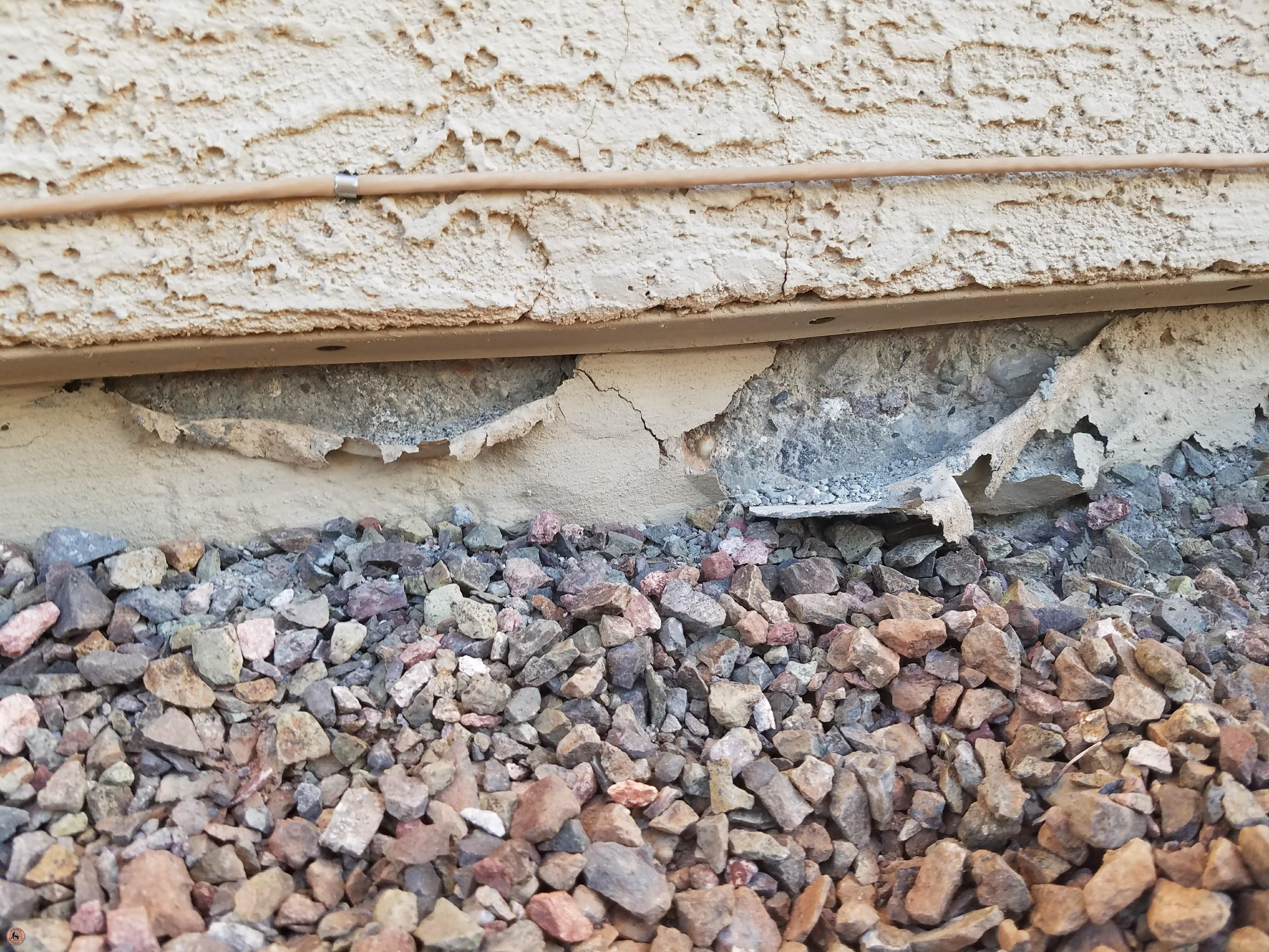 Photo of Spalling Concrete Damage 14