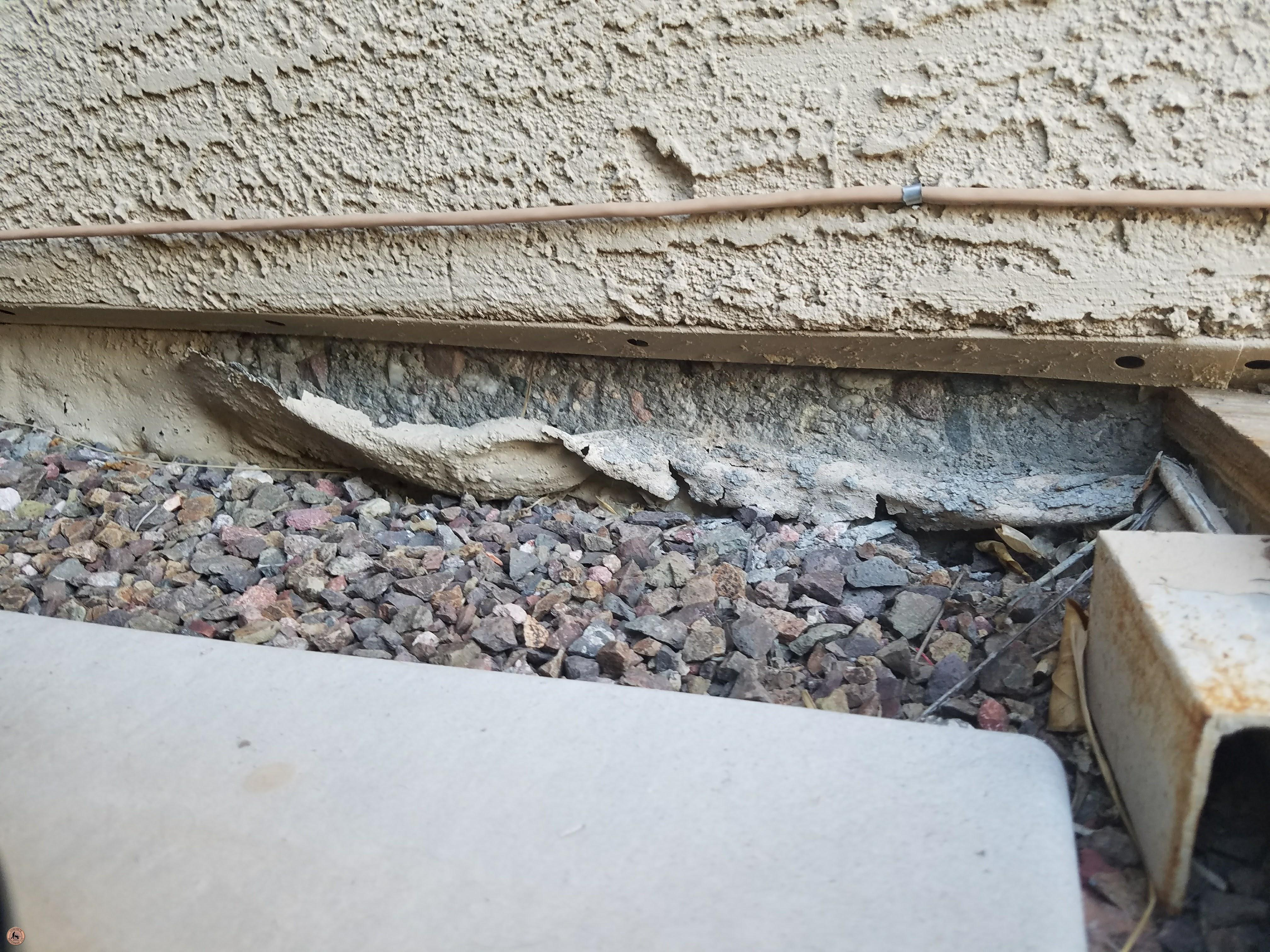 Photo of Spalling Concrete Damage 15