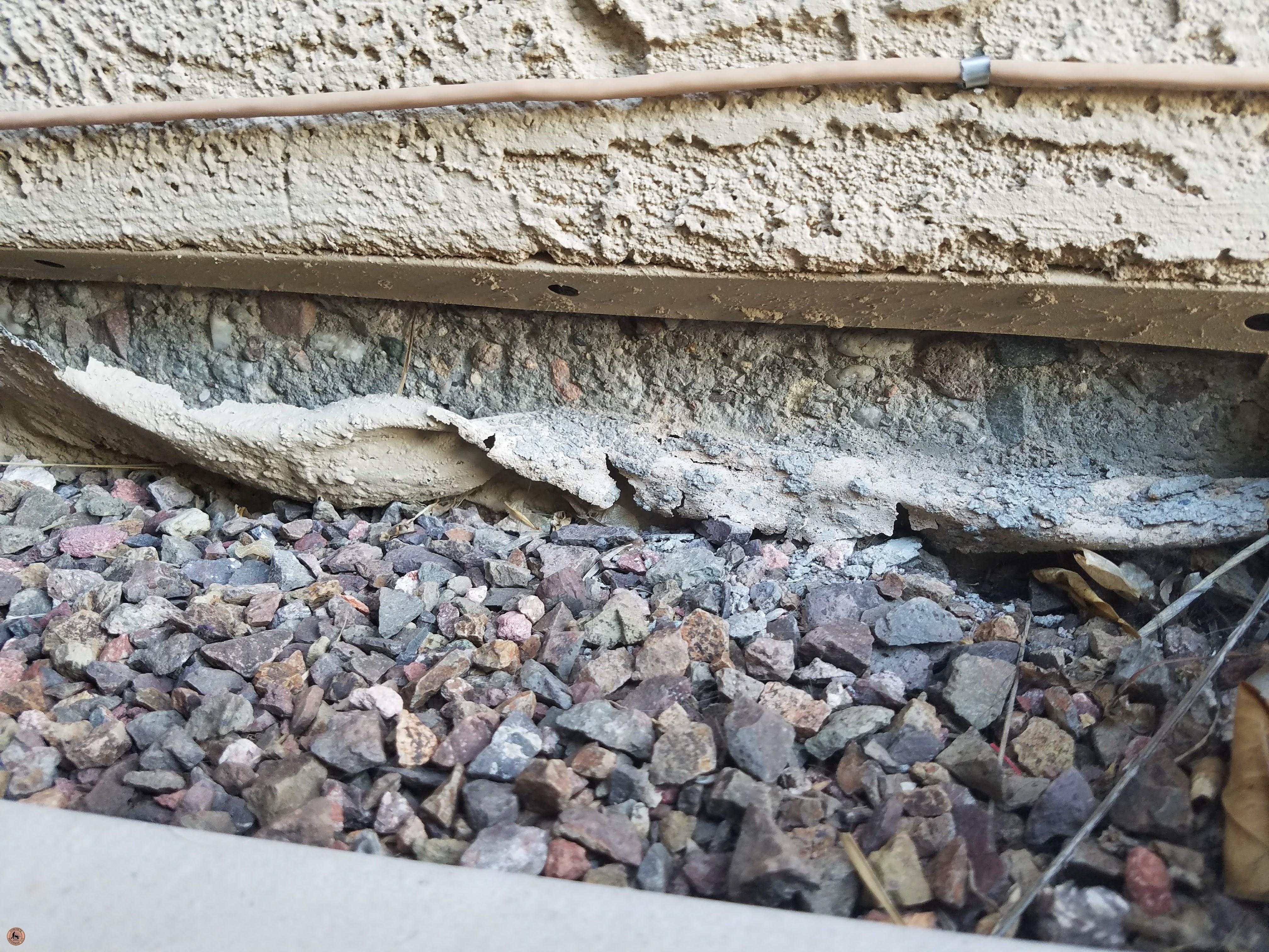 Photo of Spalling Concrete Damage 16