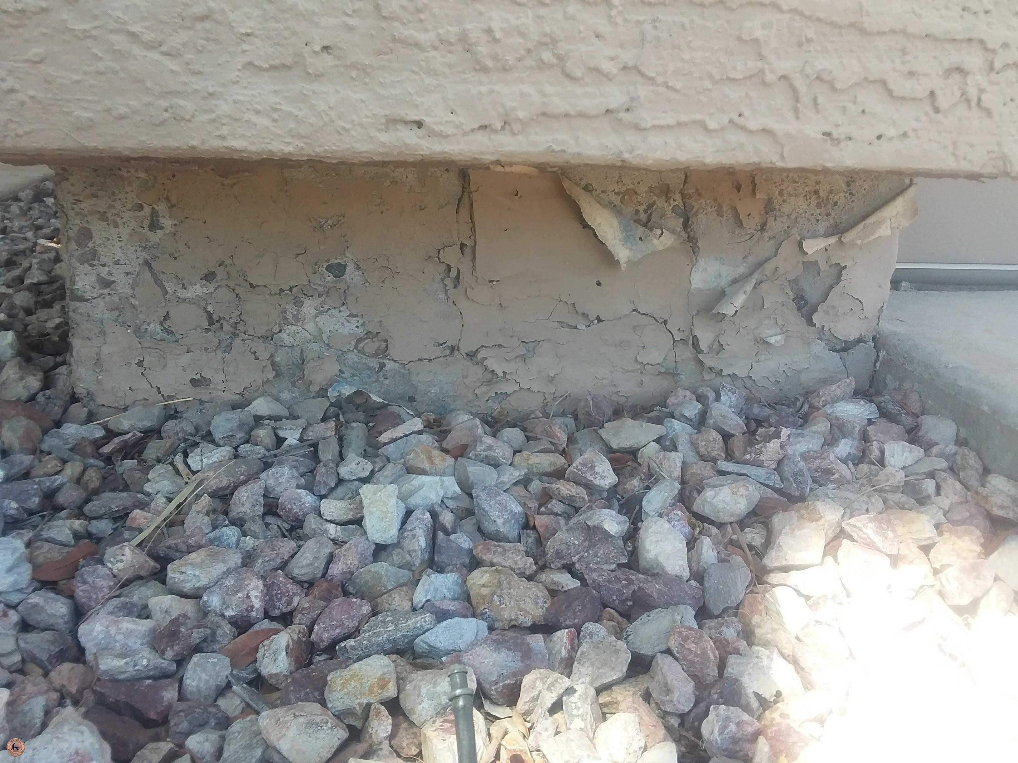 Photo of Spalling Concrete Damage 21