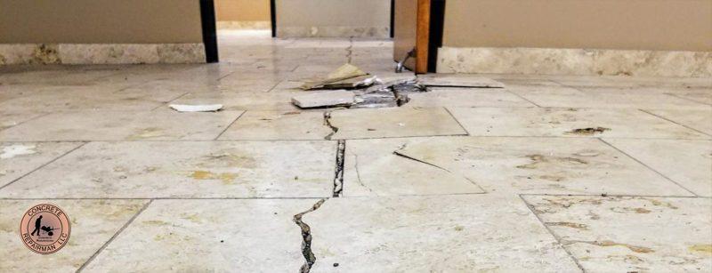 Concrete Floor Crack Stitching Floor Leveling Concrete