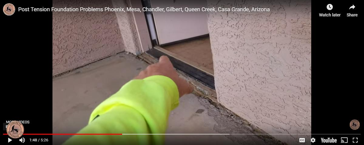 Post-Tension Foundation Repair Expert Phoenix Arizona